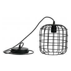WOOOD Lotus hanglamp metaal zwart