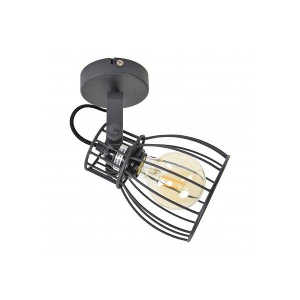 Plafondspot Wire 1-lichts Zwart