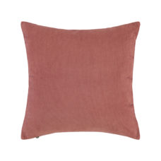ESSENZA Riv sierkussen square 45x45cm - Dusty Rose