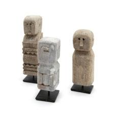 Klein beeld van steen - 16cm