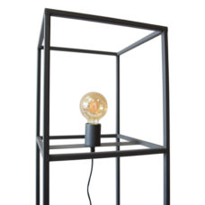 Vloerlamp Frame 30x30x120 Zwart