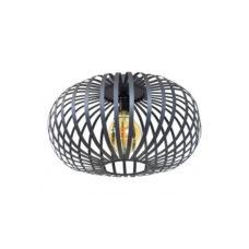 Plafondlamp Flow 40x23 vintage black