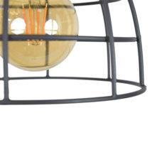 Plafondlamp Francis Small 20x28 Vintage black