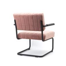 Lounge fauteuil Operator - Oud roze