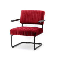 Lounge fauteuil Operator - Rood