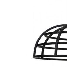 Hanglamp 60x50cm AVALON mat zwart