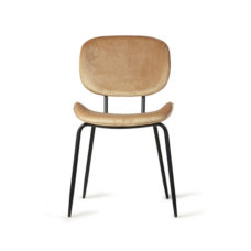 HK Living Dining chair - Velvet sand