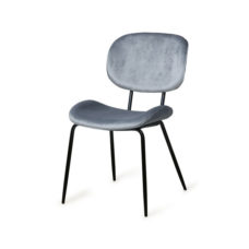 HK Living Dining chair - Velvet cool grey