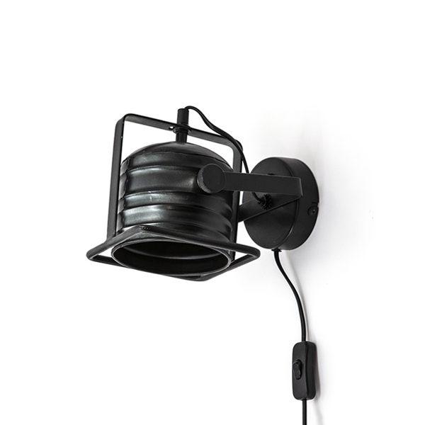 Minack Wandlamp - Zwart
