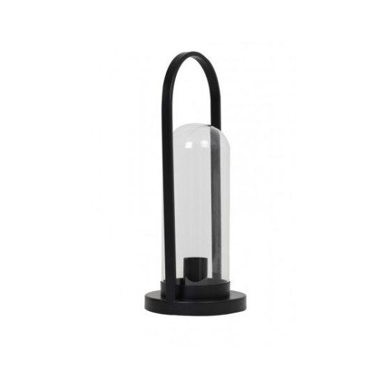 Tafellamp 18x45cm AMATO mat zwart