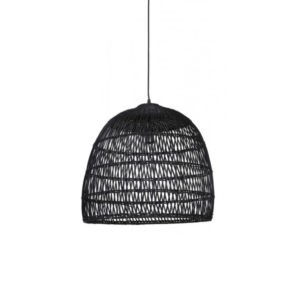 Hanglamp 53x49cm EVELIE Rotan Zwart