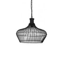 Hanglamp 30x28cm MARONKA mat zwart