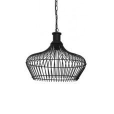 Hanglamp 41x40cm MARONKA mat zwart