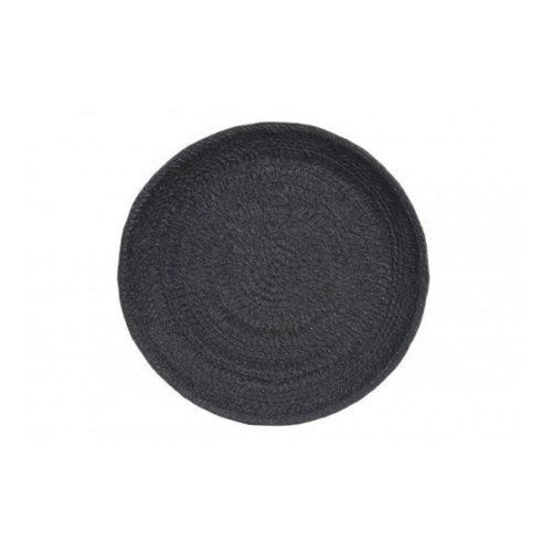 Schaal 43,5x5,5cm JASON mat zwart