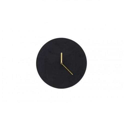 Klok WAIWO 30cm mat zwart