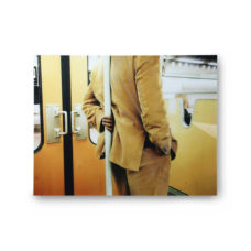 HK Living Wanddecoratie plexibond - Tram