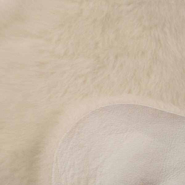 Dyreskinn Schapenvacht wit 70-90cm