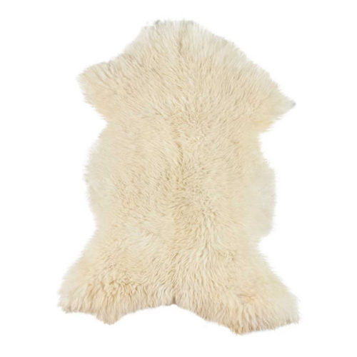 Dyreskinn Schapenvacht wit XXXL 180cm