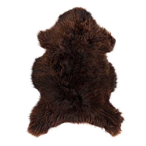 Dyreskinn Schapenvacht bruin XXXL 180cm
