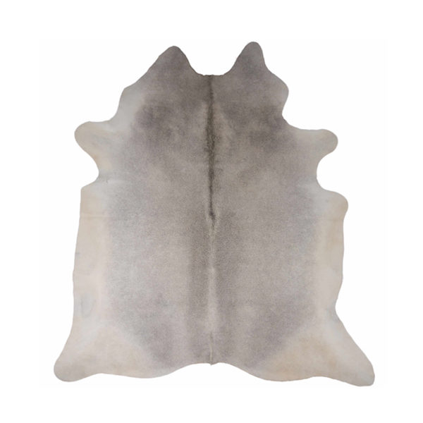 Dyreskinn Koeienhuid natuurlijk grijs 2-3 m2