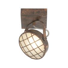 Plafondspot 1-lichts Lazaro - Roest