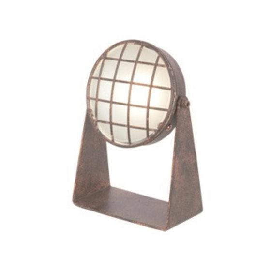 Tafellamp Lazaro - Roest