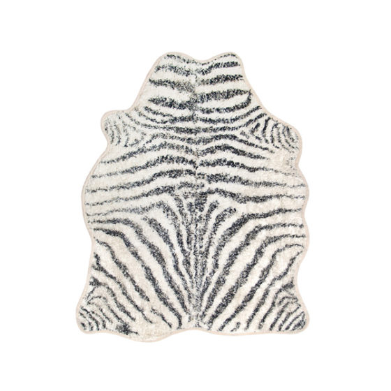 HK Living Badmat zebra 85x100cm