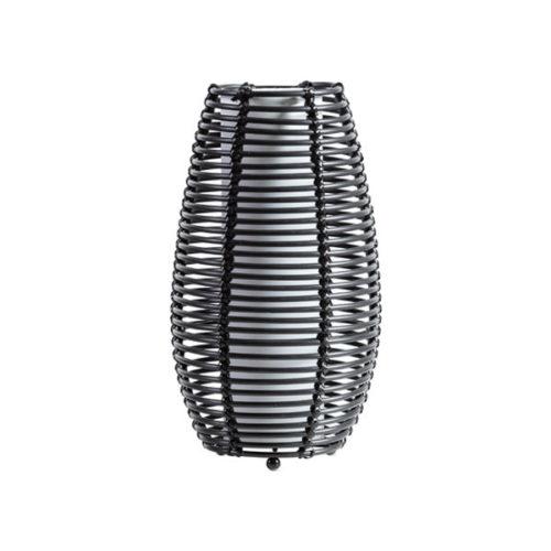 Tafellamp Cocoon rotan - Zwart