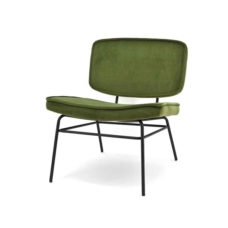 Lounge fauteuil Vice - Olive