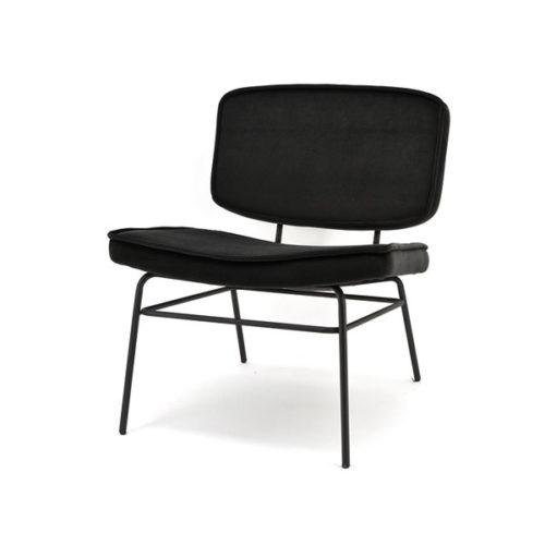 Lounge fauteuil Vice - Black