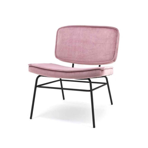 Lounge fauteuil Vice - Old pink