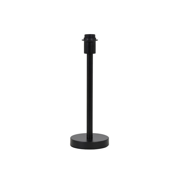 Lampvoet 14x39 cm WASHINGTON mat zwart
