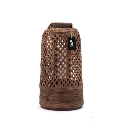 Bamboe lantaarn 31,5x31,5x57,5cm