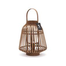 Bamboe lantaarn 32,5x32,5x37,5cm