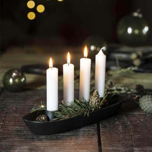 IB Laursen Advent Kaarsenhouder voor 4 dinerkaarsen