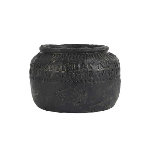 IB Laursen Pot Cesar handgemaakt - 14,5x11cm