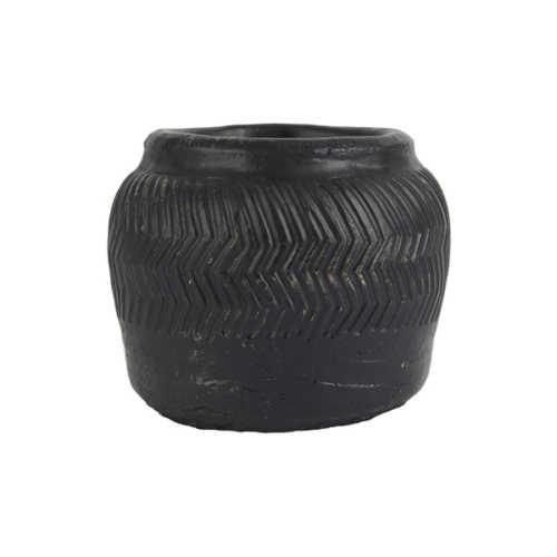 IB Laursen Pot Cesar handgemaakt - 13,5x12,5cm