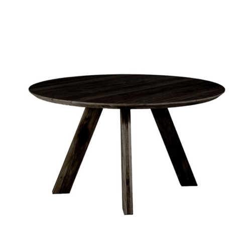 Eettafel Kiki zwart - rond 140cm