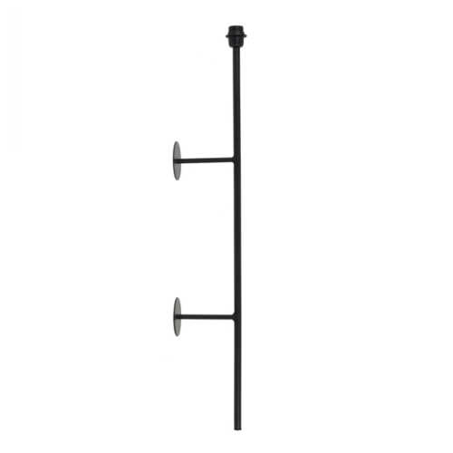 Wandlamp 17x10x100cm SORIANO mat zwart