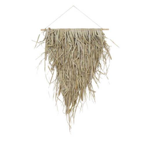 Wandornament palm blad KATIOLA 65x75cm