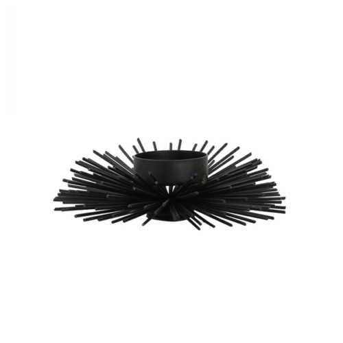 Theelicht ECHIN 14x5,5cm mat zwart