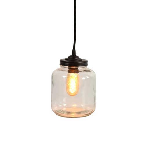 Tafellamp Sherryn S - helder glas