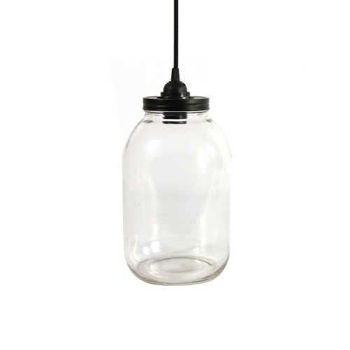 Tafellamp Sherryn L - helder glas
