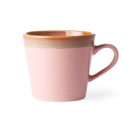 HK Living 70's Cappuccino Mok - Pink