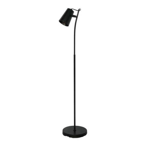 Vloerlamp Lettura 1L - Zwart