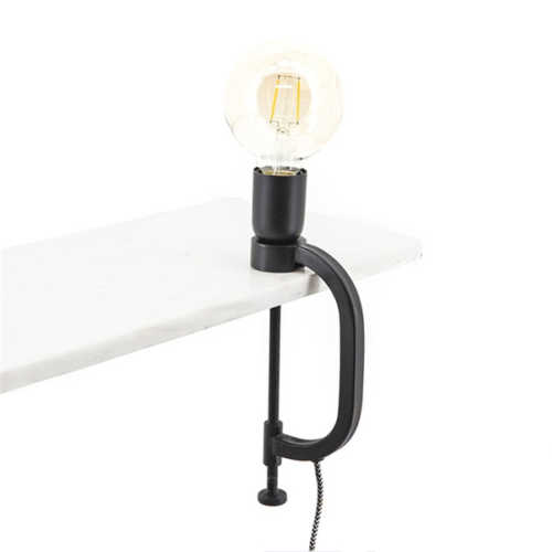 Tafellamp Klamp - Black