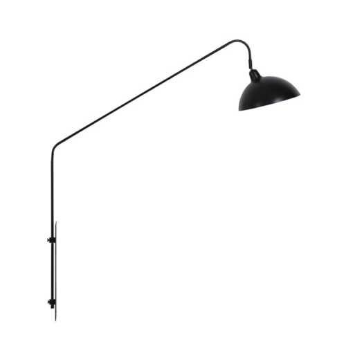 Wandlamp 110x30x127cm ORION mat zwart