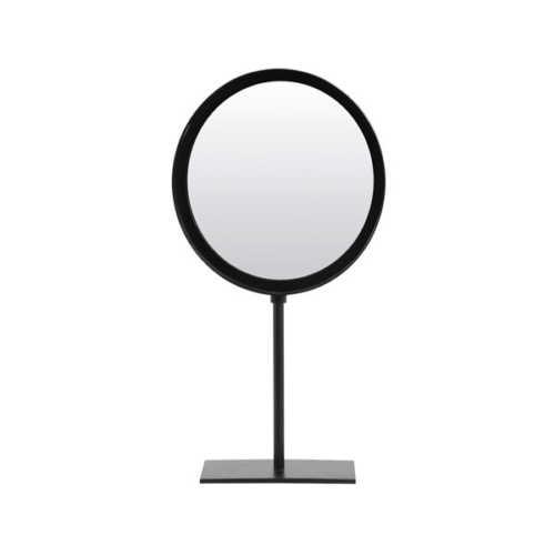 Spiegel 25x10x45cm LURI mat zwart