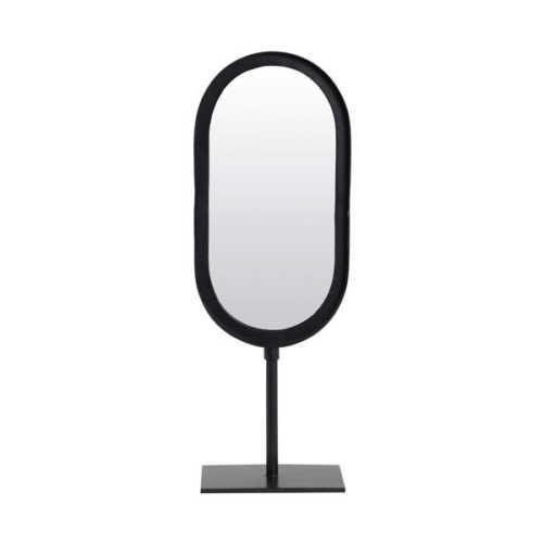 Spiegel 16x10x45cm LURE mat zwart