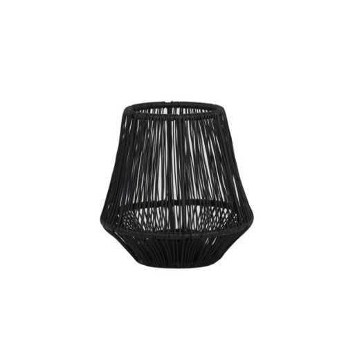 Theelicht 12x12x12cm VITU mat zwart